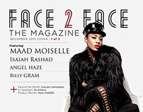 Face 2 Face the Magazine | December 2013