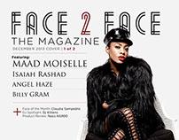Face 2 Face the Magazine | December 2013