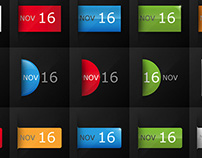 FREE | Date Calendar Icon Set for Blogs