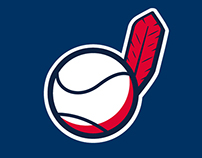 Indians Baseball Redesign