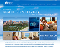 The Reef at Atlantis website