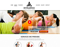 CycleBox Fitness Website and Apps