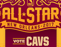 2017 Cavaliers All-Star Campaign Concept