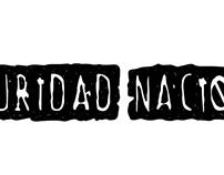 Tipografía - Seguridad Nacional (Rock band)