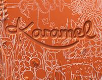 Karamel - Poem Book & Promo Posters
