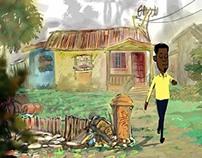 Homeles. Digital animation