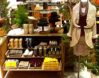 Anthropologie Visual Merchandising  Holiday 2013
