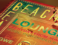 Free Summer Lounge Flyer Template