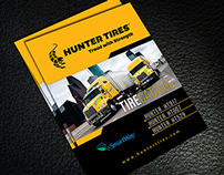 Hunter Tire Trifold Brochure