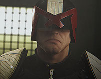 Judge Dredd - Personal 3D project