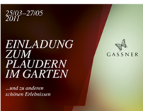 Gassner gardens event flyer