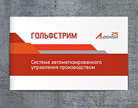 Booklet for the company Ascon