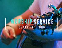 C3 Wellington Central Worship Service Promos