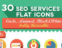 30 SEO service icon pack