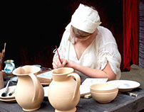 Middle Ages italian traditional crafts