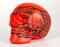 Salmon Skull