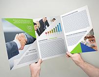 Company Brochure Tri-Fold A4 x3 Vol.10