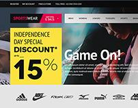 Ecommerce SportsWear
