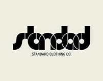 Proposed Logo Variations For The Standard Clothing Co.