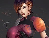 Sabine Fan Art