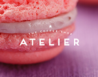 ATELIER | The Coffee Shop - Logo Design