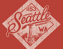 Seattle Tshirt Design