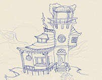 WCH Sketches & Storyboard