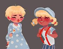Girls - Fashion/Character design