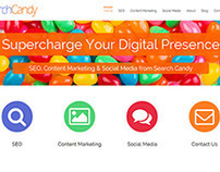 Search Candy Agency Website Design