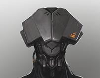 THE GUARD Helmet Sketch