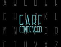 Garf Condensed // Typeface