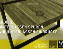 Neue Wiener Werkstätte Werbekampagne