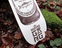Hippo gang skateboard 2K14