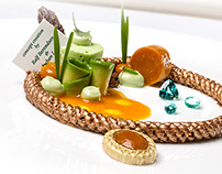 Michelinstar Dessert by Jochen Leën
