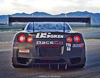 RaceCo's Nissan GT-R: Commercial Portraits