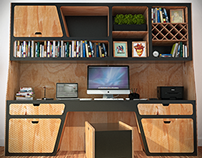 Alef - Modular Desk
