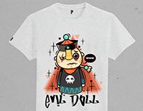 [Evil doll]系列 T恤图案