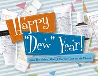 "Happy ""Dew"" Year!"