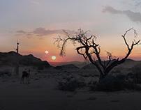 Sci-Fi Desert Environment