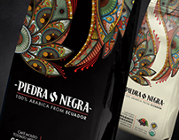 Piedra Negra Ecuadorian Gourmet Coffee Packaging