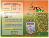 Arize H64 Flyer