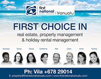 First National Real Estate (Vanuatu)