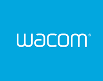 Wacom.com Re-Design