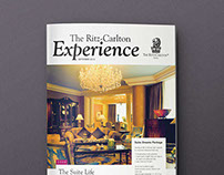 RITZ CARLTON Newsletter Magazine