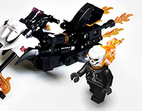 Lego Ideas - Ghost Rider - Please vote for my project!