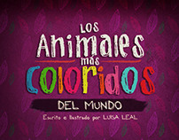 Los Animales Más Coloridos del Mundo (Pop-up book)