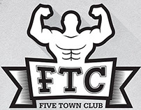 Print Ads : Five Town Club