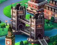 Карта для казуальной игры