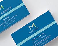 Martinel Inc Rebranding