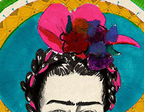 Frida Kahlo Illustration